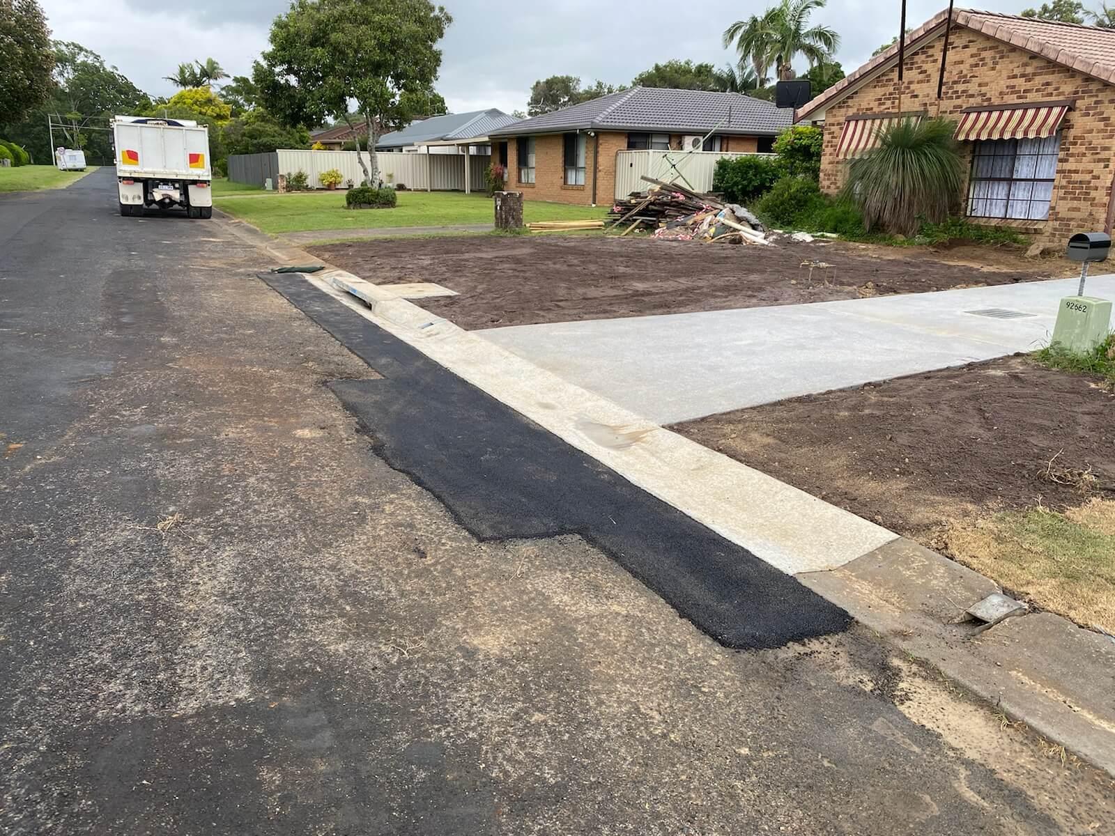civil roadworks