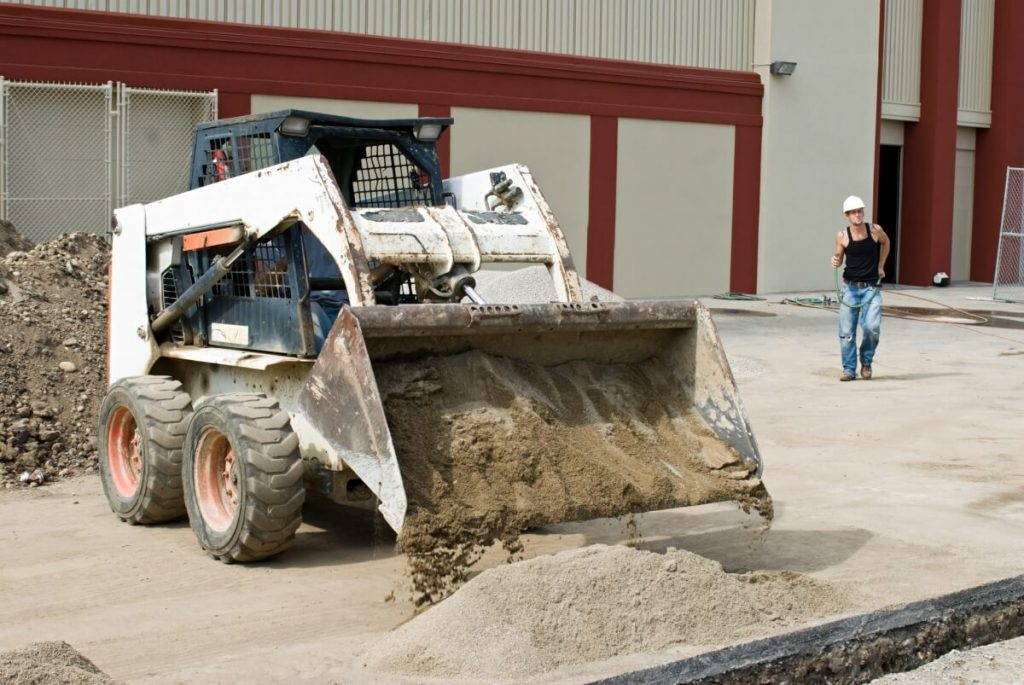 Earthworks Landscaping offer a range of civil services including bobcat services